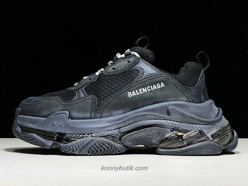 Balenciaga Triple S Dad Unisex Sort Sko