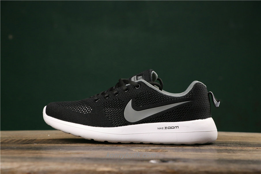 Nike Air Fashion Hollow Unisex Sort / Grå / Hvid Sko (789651019)
