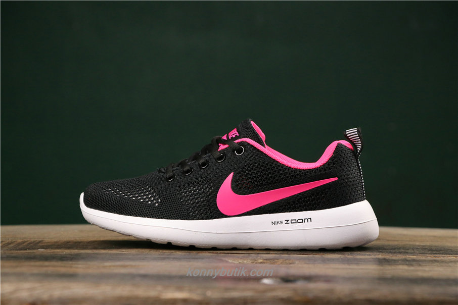Nike Air Fashion Hollow Dame Sort / Lyserød Sko (789651005)
