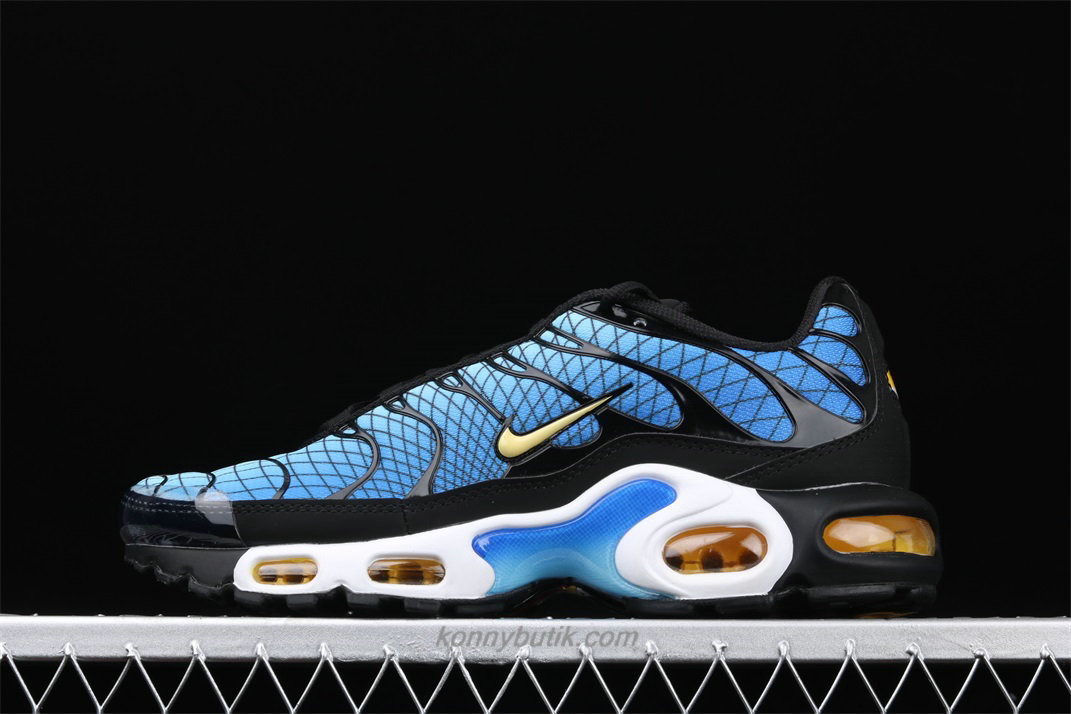 Nike Air Max Plus TXT Herre Blå / Sort Sko (AV7021 001)