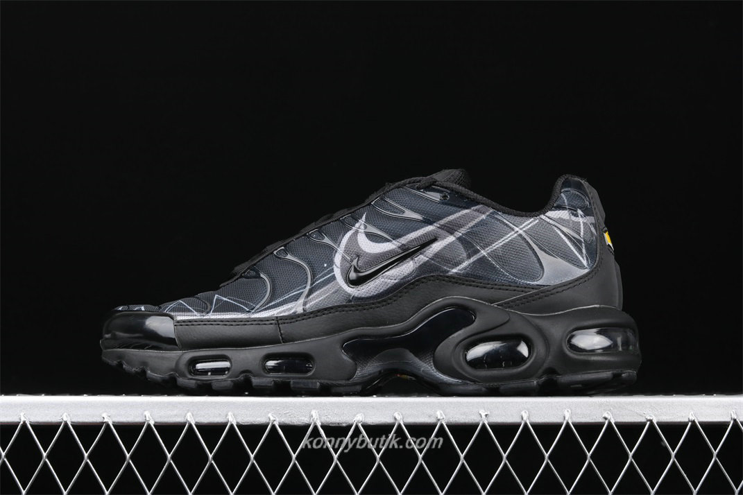 Nike Air Max Plus TXT Herre Sort / Grå Sko (BV7826 001)