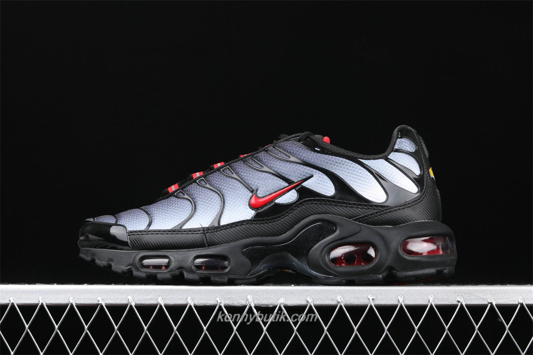 Nike Air Max Plus TXT Herre Sort / Grå / Rød Sko (CI2299 001)