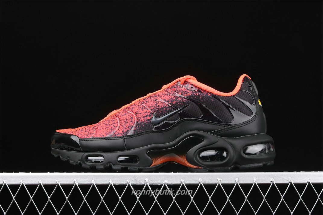 Nike Air Max Plus TXT Herre Sort / Rød / Orange Sko (CI2299 106)