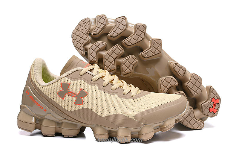 Under Armour Scorpio 3 Herre Khaki / Brun Sko