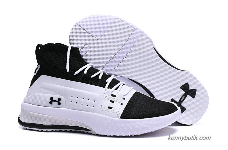 Under Armour Project Rock 1 Herre Sko Hvid / Sort