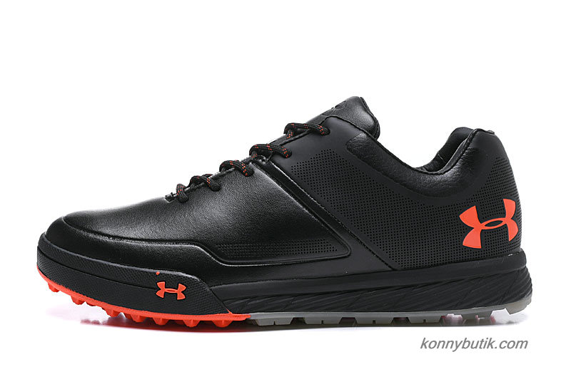 Under Armour Tempo Hybrid 2 Læder Herre Sko Sort / Orange